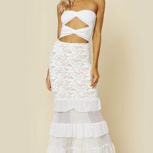 Nightcap bowtie maxi dress